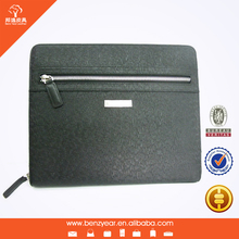 Hot sell genuine leather with many card slots custom computer case
