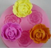 Новый bakewaresilicone смола цветок керамический цветок плесень шоколадный торт украшение конфеты плесень мыло плесень spot