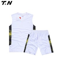 white blank school basketball uniform hot selling