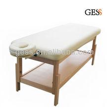 Wooden Leg Stationary Massage Table
