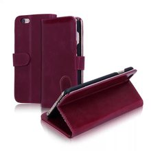 High quality leather cover for iphone 6, for iphone6 cell phone case
