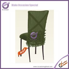 Fancy Wedding chair covers and sashes