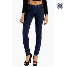 Girls cheap stretch jeans OEM clothing manufacturer