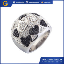 CCR1016 2014 Zhaoxiang gold fashion ring red coral stone rings gold plated single stone