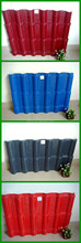 PVC corrugated roofing tile for chinese antique style building