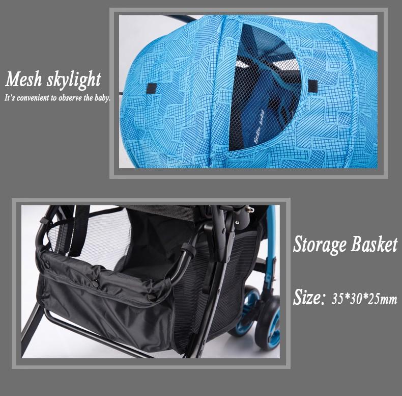 baby stroller basket