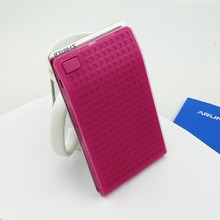 Fashionable design for ladies Mirror Function Power Bank USB lithium External Auto Battery Charger