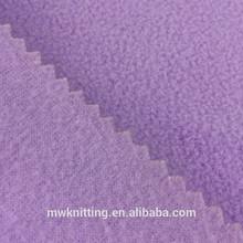 75D tela de poliéster tejido cepillado simple de lana para camisa