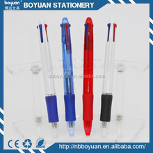 2015 hot sale cheap promotional plastic multi-function pen B-BP-1240