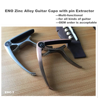 High quality Unique Zinc Alloy Guitar Capo guitar accessory from ENO MUSIC