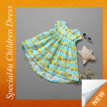 Children's boutique clothing for 3 year old kids cotton dress children dress wholesale LYD-072
