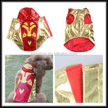 Halloween Safety Led Flashing Led Pet Dog Coat Superman