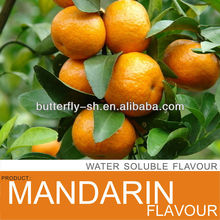 Mandarin flavour in fruit beverage