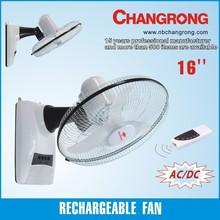 rechargeable plastic wall fan on sale