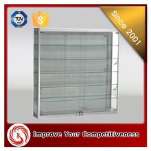 elegant design wall mount jewelry display/display cabinet/jewery display case./showcase