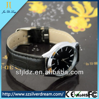 Wholesale Price Fashion Leather Wrap Men Watch Custom Wrist Watch