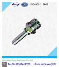 De acero al carbono de tapón de la tubería / de metal de montaje / zhejiang china