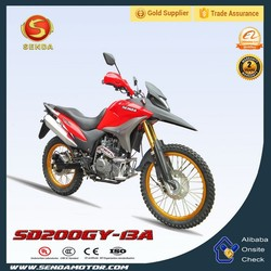 4 Stroke Off Road 200cc Engine Dirt Bike From China SD200GY-13A