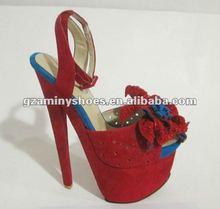 Distinct flower Fashion ladies sandal