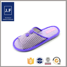 beautiful cheap indoor cotton slipper for women