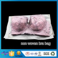 Non Woven Underwear Bag Safety Packing Bag Drawstring Bra Bag
