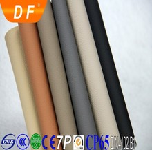 PVC embossed automotive leather material for car seat and motorcycle usage