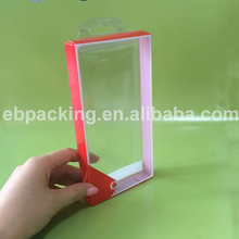 transparent packaging manufacturer Soft crese printed clear PVC box