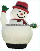 Low cost ,high quality inflatable christmas decorations/inflatable christmas cartoons