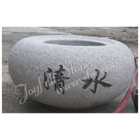 Japanese Garden Stone Water Bowls