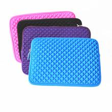 2015 hot sale neoprene notebook bag diamond surface laptop sleeve