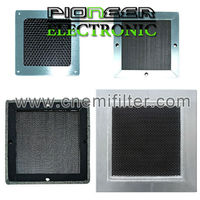 300x600mm, steel EMI Honeycomb filter for shielding room with RF box screen honeycomb vent