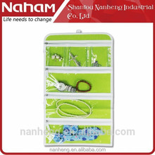 NAHAM 9 Pockets household Cosmetic Hanging Storage Organizer Bag