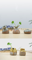Ceramic vases Ikebana floral retro nostalgic ornaments Crafts