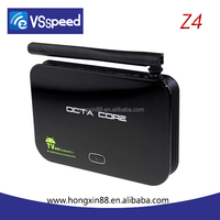 2015 factory VSPEED new products 2g/16g 4k TV Box Dual band wifi RK3368 Octa Core Z4 Android 5.1 google tv box