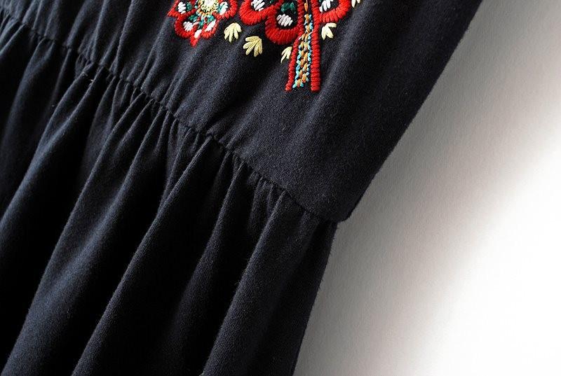 Вышивка на спортивном платье 64