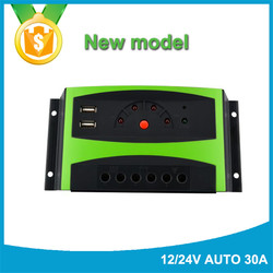 China portable 10a solar controller charger for street light