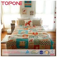 New arrival latest design 2015 gymnastic bedding set
