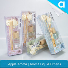 organic and decorative reed diffuser & atomizing air humidifier for home/ artificial flower air freshener