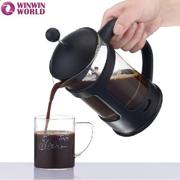 Portable Glass Coffee Maker : Coffee Maker,Portable Handblown Custom Pyrex French Press Coffee Maker 800ml - Buy French Press ...
