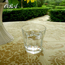 wholesale 8 Corners Glass cup / Water Glass Cup / round Mouth drinking glassware