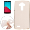 2015 New Products Soft Clear Protective Cover for LG G4 Back Cover
