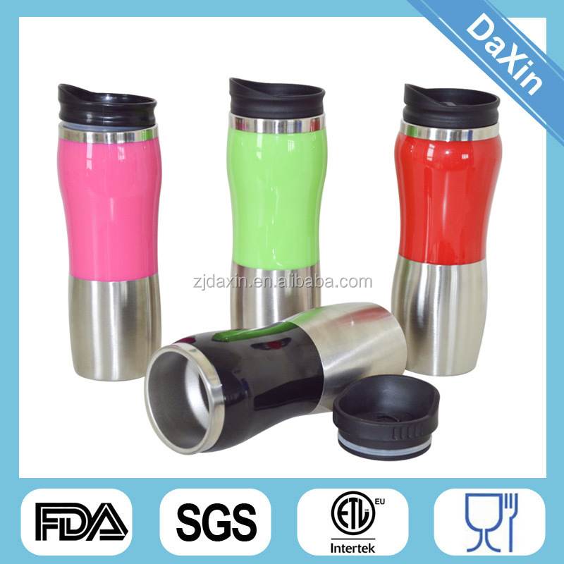 Stainless Steel Auto Mug Cute Thermal Coffee Thermos