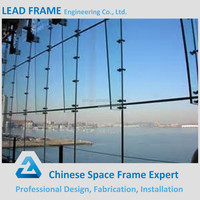 Beautiful Design Light Weight Steel Glass Curtain Wall for Sale