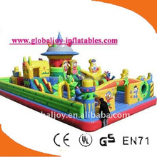 latest design inflatable bouncer combo/inflatable castle/inflatable jumping bed