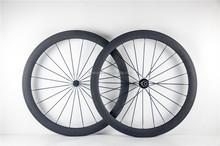 Perfect 50mm pneu de carbone roues, roues en carbone vélo, roues de bicyclette