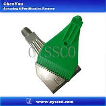 A variety of air application of high impact plastic fan nozzles