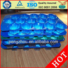 plastic insert tray for fruit black blue