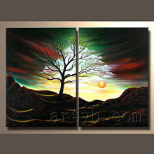 popular moderno abstracto pintado a mano pintura mural de arte de la pintura