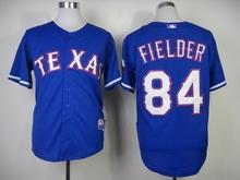 Texas Rangers Prince Fielder #84 American Baseball Jersey