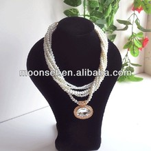2014Popular Latest Design Pearl Necklace Pictures